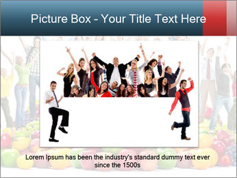 Group of happy people PowerPoint Template - Slide 16