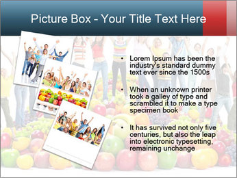 Group of happy people PowerPoint Template - Slide 17