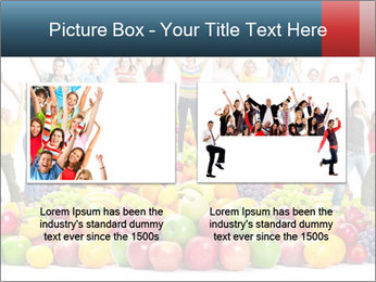 Group of happy people PowerPoint Template - Slide 18