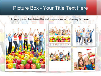 Group of happy people PowerPoint Template - Slide 19