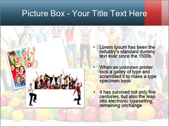 Group of happy people PowerPoint Template - Slide 20