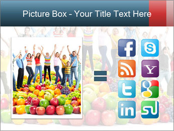 Group of happy people PowerPoint Template - Slide 21