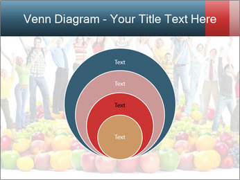 Group of happy people PowerPoint Template - Slide 34
