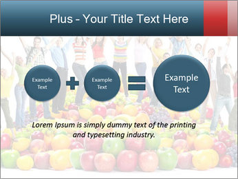 Group of happy people PowerPoint Template - Slide 75