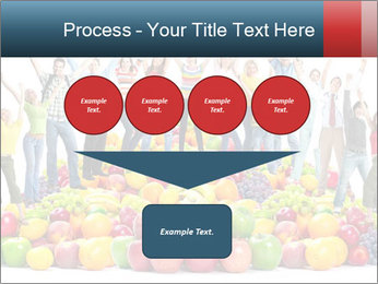 Group of happy people PowerPoint Template - Slide 93