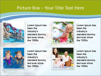 Baby's first swim PowerPoint Template - Slide 14