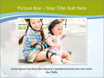 Baby's first swim PowerPoint Template - Slide 15