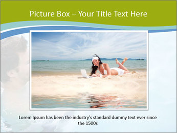 Baby's first swim PowerPoint Template - Slide 16