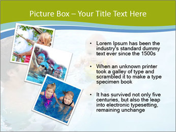 Baby's first swim PowerPoint Template - Slide 17