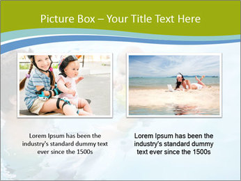 Baby's first swim PowerPoint Template - Slide 18