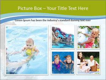 Baby's first swim PowerPoint Template - Slide 19