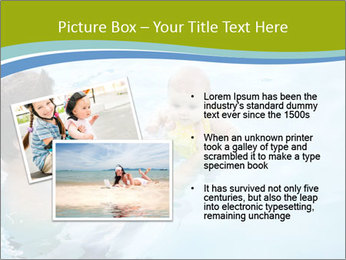 Baby's first swim PowerPoint Template - Slide 20