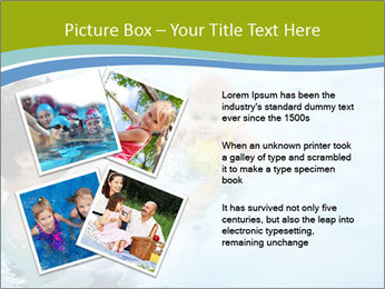 Baby's first swim PowerPoint Template - Slide 23