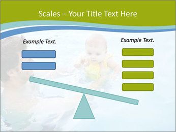 Baby's first swim PowerPoint Template - Slide 89