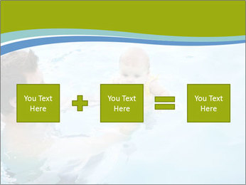 Baby's first swim PowerPoint Template - Slide 95
