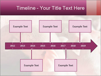 Momma pig feeding PowerPoint Templates - Slide 28