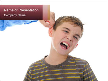 Strict father PowerPoint Template - Slide 1
