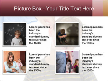 Strict father PowerPoint Template - Slide 14