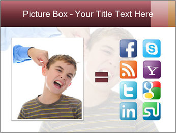 Strict father PowerPoint Template - Slide 21
