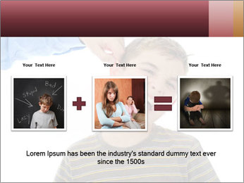 Strict father PowerPoint Template - Slide 22