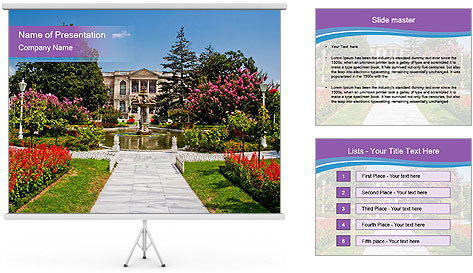Dolmabahce Palace PowerPoint Template