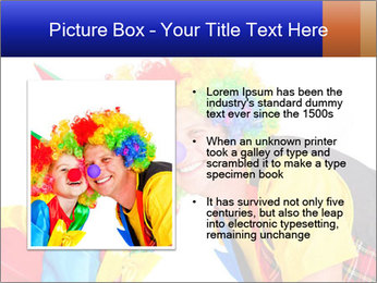 Two smiling clowns PowerPoint Template - Slide 13