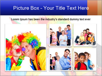 Two smiling clowns PowerPoint Template - Slide 19