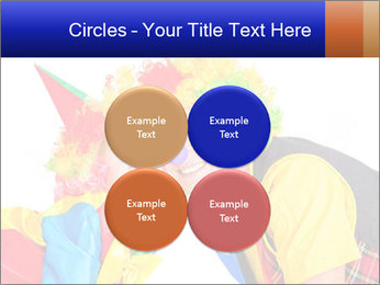 Two smiling clowns PowerPoint Template - Slide 38
