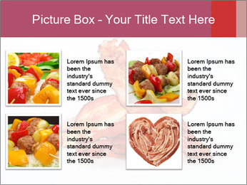 Strips of bacon PowerPoint Template - Slide 14