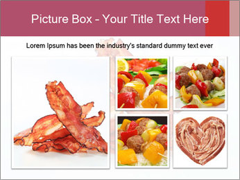 Strips of bacon PowerPoint Template - Slide 19