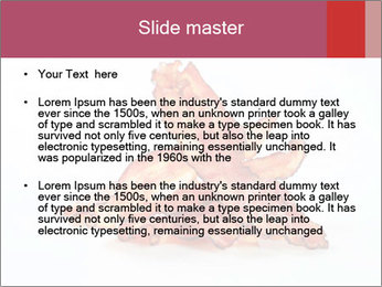 Strips of bacon PowerPoint Template - Slide 2