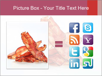 Strips of bacon PowerPoint Template - Slide 21
