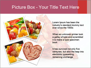 Strips of bacon PowerPoint Template - Slide 23