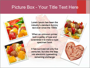 Strips of bacon PowerPoint Template - Slide 24