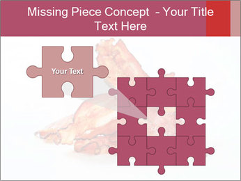 Strips of bacon PowerPoint Template - Slide 45