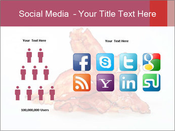 Strips of bacon PowerPoint Template - Slide 5