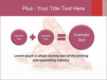Strips of bacon PowerPoint Template - Slide 75