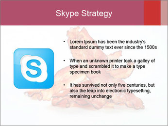 Strips of bacon PowerPoint Template - Slide 8