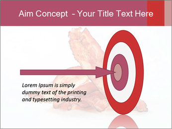 Strips of bacon PowerPoint Template - Slide 83