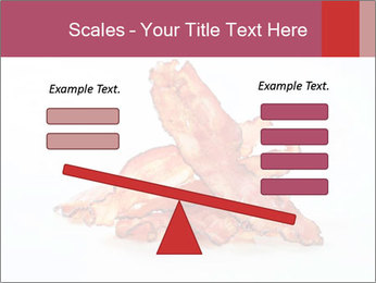Strips of bacon PowerPoint Template - Slide 89