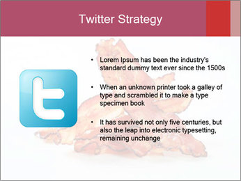 Strips of bacon PowerPoint Template - Slide 9