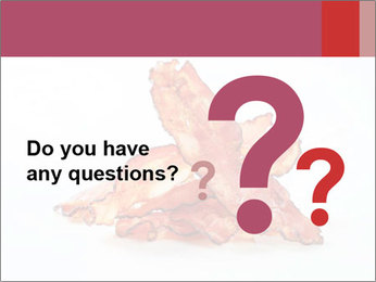 Strips of bacon PowerPoint Template - Slide 96