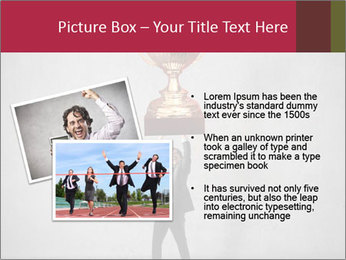 Triumphing businessman PowerPoint Template - Slide 20