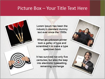 Triumphing businessman PowerPoint Template - Slide 24
