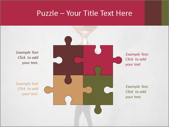 Triumphing businessman PowerPoint Template - Slide 43