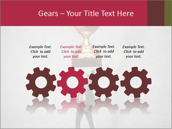 Triumphing businessman PowerPoint Template - Slide 48