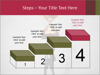 Triumphing businessman PowerPoint Template - Slide 64