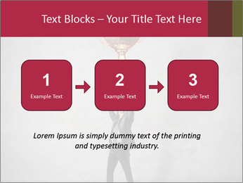 Triumphing businessman PowerPoint Template - Slide 71