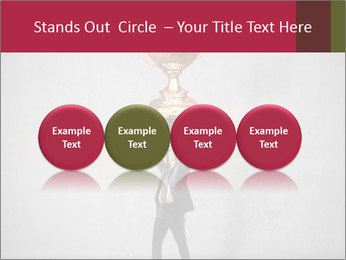 Triumphing businessman PowerPoint Template - Slide 76