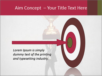 Triumphing businessman PowerPoint Template - Slide 83